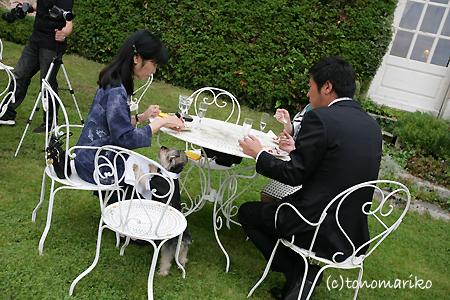 結婚式でおじゃま犬_c0024345_953984.jpg