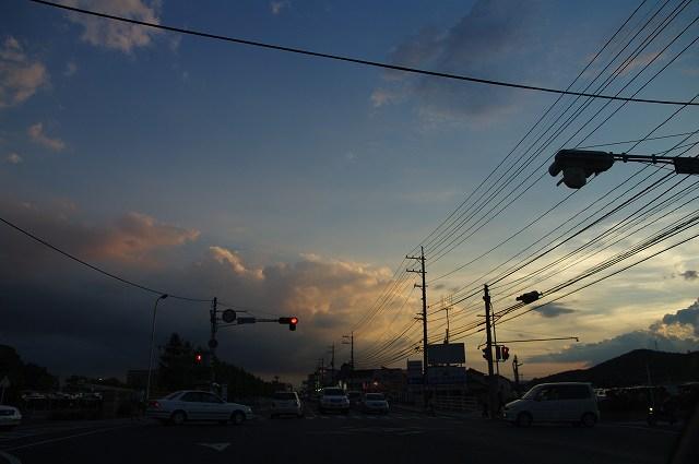 8月12日の夕景_e0074308_20364062.jpg