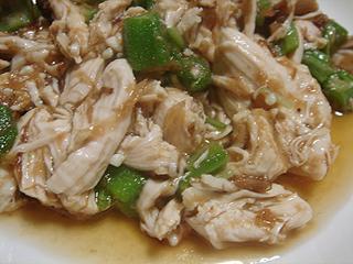鶏ささみの梅肉ポン酢和え_c0025217_14583865.jpg