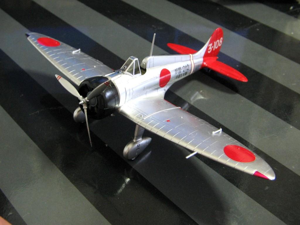 九六式艦上戦闘機 : ほのほの堺消7175日記