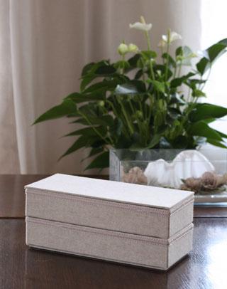 幼なじみの誕生日プレゼントに カルトナージュ、箱もの_d0133320_145144.jpg