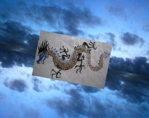 Blue Dragon                                                          碧 い  龍_f0047623_1119897.jpg