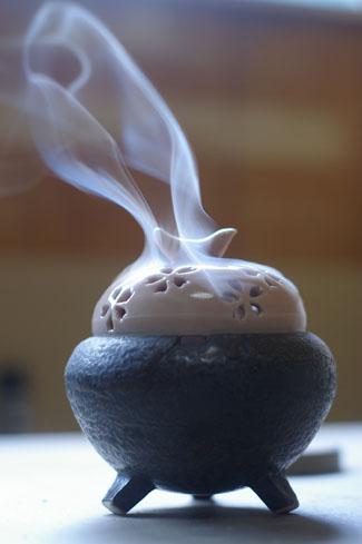 香炉のテスト。_d0034025_21494020.jpg