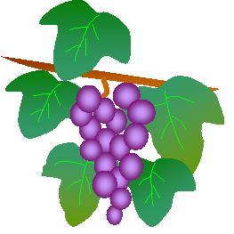 オートシェイプで描いた葡萄