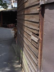雨樋と板壁の補修_c0124828_22241963.jpg