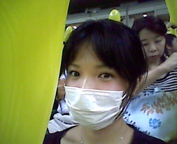 7回裏で黄色い風船~_e0114246_20392177.jpg