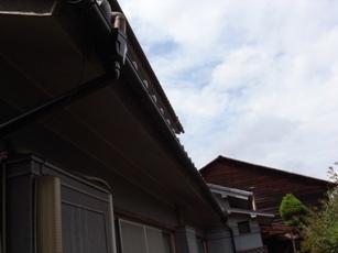 雨樋の修繕_c0124828_8363489.jpg
