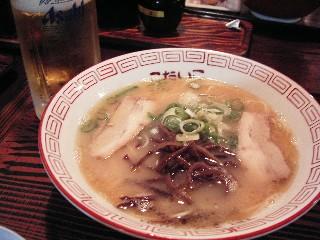 プチ旅in熊本~其の3~ 熊本ラーメンと馬刺しを食す。_d0111534_21593211.jpg