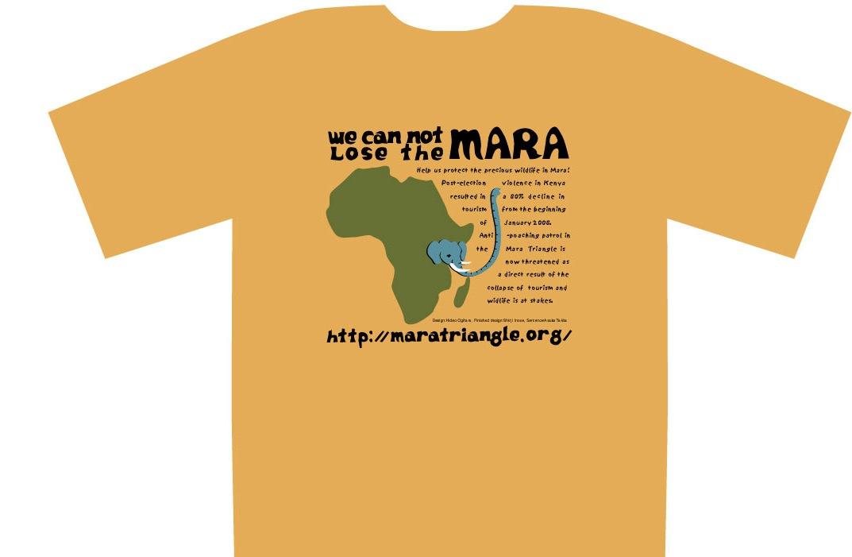 "\""WE CANNOT LOSE THE MARA"" Tシャツ\""販売_b0137038_2037589.jpg"