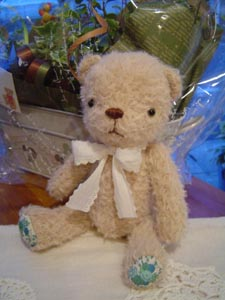 wedding Bear モヘアサンプル。_d0141953_114465.jpg