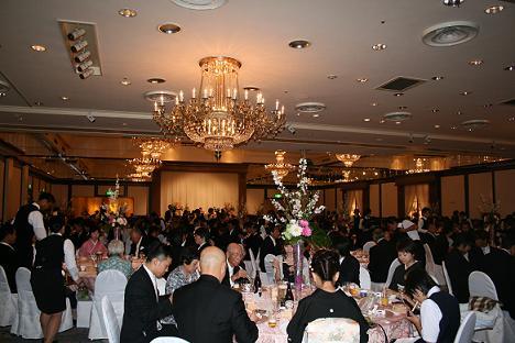 林さんの息子さんの結婚式_a0107574_1028445.jpg