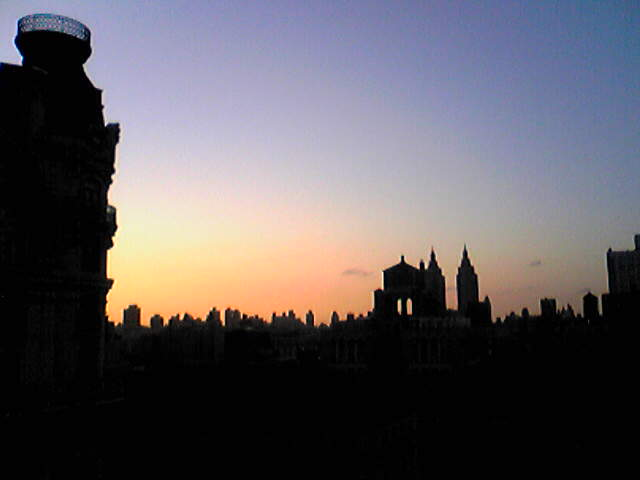2008 New York Summer Report 1 ~Dawn, 朝焼け~_e0142585_14334811.jpg