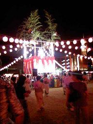 夏祭り その2 そして盆踊りまくり~_f0042307_1302572.jpg