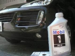 オイル交換 並行Mobil1 0w-40_b0054727_2232787.jpg