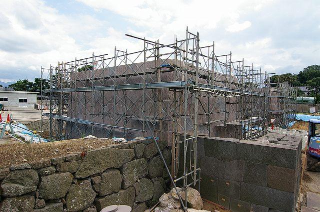 河北門の復元工事は今_d0043136_191308.jpg
