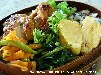 スパイシーチキンソテー☆今日のお弁当♪_c0139375_13262694.jpg