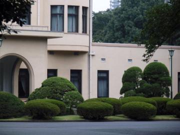 目黒庭園美術館内のカフェ_b0132442_1910342.jpg