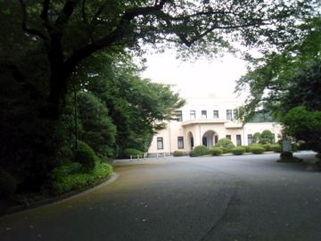 目黒庭園美術館内のカフェ_b0132442_19104860.jpg