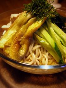 手打ち冷やし中華 茹で鶏スープのタレ_c0110869_11525221.jpg
