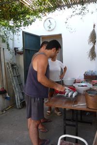 イタリアで焼き魚_f0106597_183648.jpg
