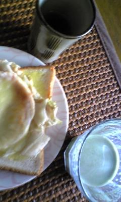 今日もママ朝食(* >∀<*)_e0114246_1132666.jpg