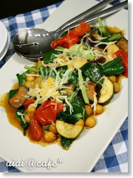 夏野菜のソテー・チーズカレー風味_a0056451_15515914.jpg