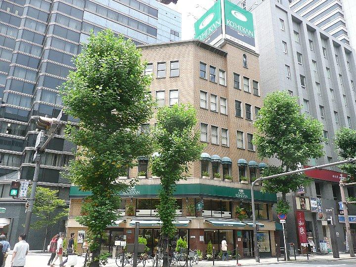大阪のワセダヤビル(珈琲館)_c0112559_1434860.jpg