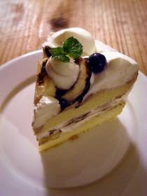 バースデーケーキ チョコバナナショート_c0110869_1871940.jpg