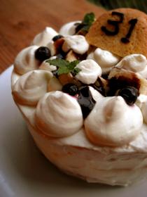 バースデーケーキ チョコバナナショート_c0110869_187220.jpg