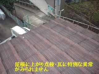 雨漏り点検・・・刃物研ぎ・・資材購入_f0031037_1842557.jpg