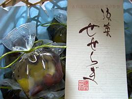 商品ロゴ : 「涼菓せせらぎ」 鶴屋光信様_c0141944_11311838.jpg