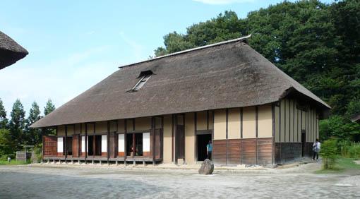 東北歴史博物館 1:今野家住宅 外_e0054299_10311513.jpg
