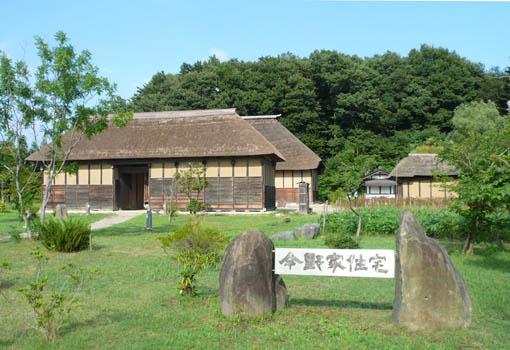 東北歴史博物館 1:今野家住宅 外_e0054299_1031565.jpg