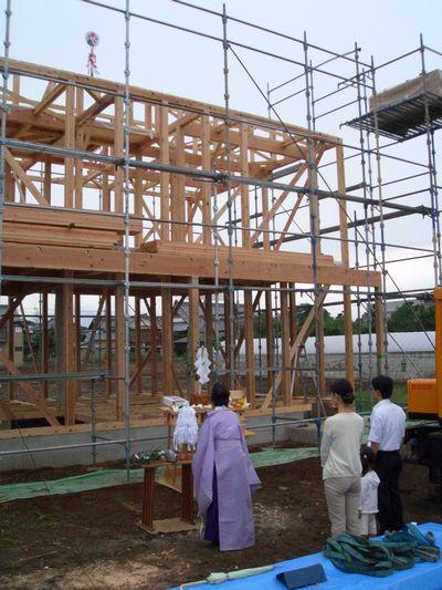 「つくばのOMの家」が上棟しました!_a0059217_18343834.jpg