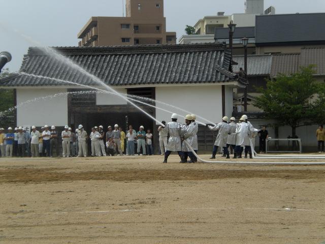 笠岡市防災訓練・・・・・_b0152548_14212247.jpg