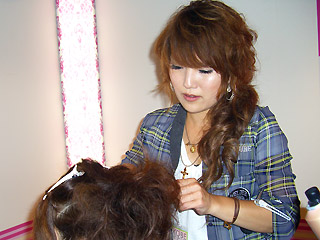 【brace】神戸コレクション3_braceのヘアアレンジブース_c0080367_14214946.jpg