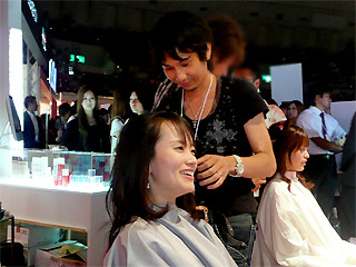 【brace】神戸コレクション3_braceのヘアアレンジブース_c0080367_14233624.jpg