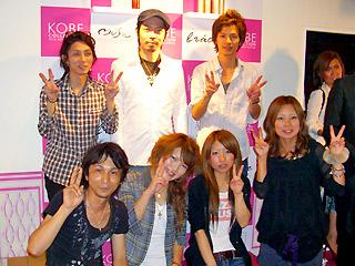 【brace】神戸コレクション3_braceのヘアアレンジブース_c0080367_14245674.jpg