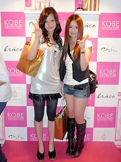 【brace】神戸コレクション3_braceのヘアアレンジブース_c0080367_14293374.jpg