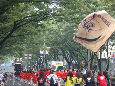 2008.8.24  原宿表参道元気祭スーパーよさこい_a0083571_2112946.jpg