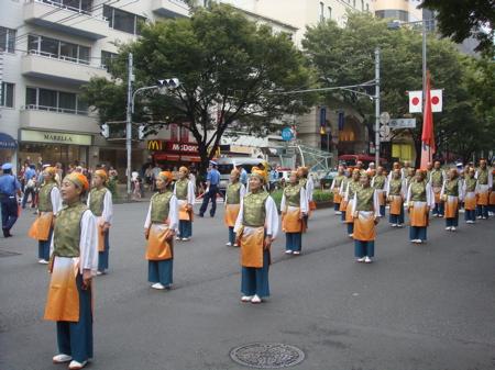 2008.8.24  原宿表参道元気祭スーパーよさこい_a0083571_211498.jpg