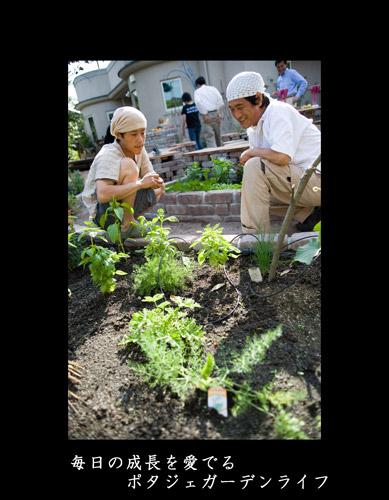 ポタジェガーデン 野菜を愛でる_d0096076_1222977.jpg