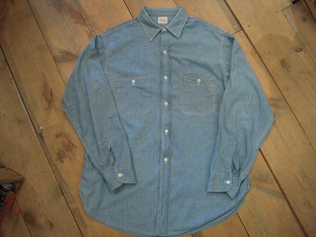 シャンブレーシャツ。_d0121303_12325785.jpg