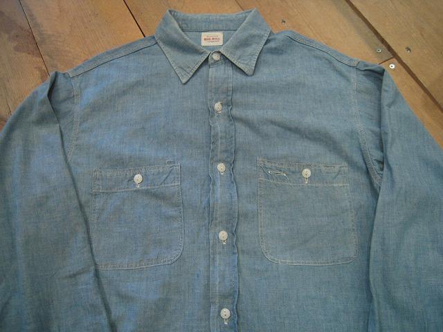 シャンブレーシャツ。_d0121303_12331265.jpg
