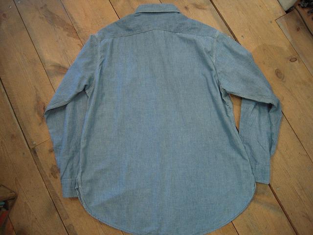 シャンブレーシャツ。_d0121303_12331891.jpg