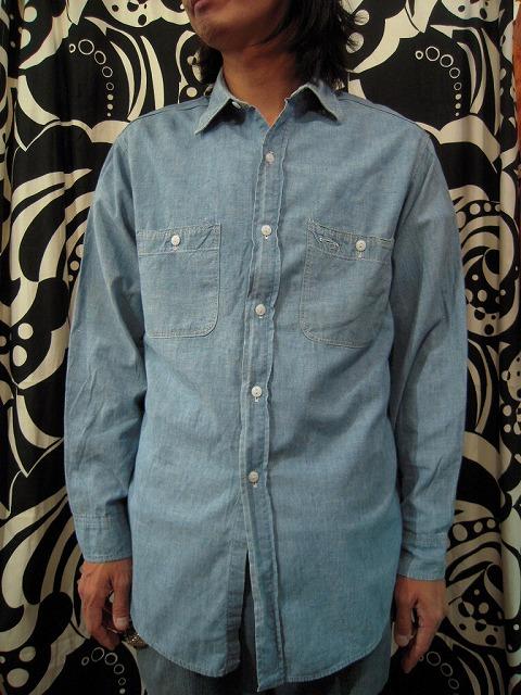 シャンブレーシャツ。_d0121303_12375316.jpg