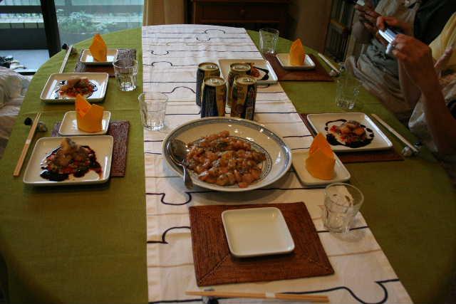 プライベート料理教室・・・シーフード中華レッスン_f0141419_6235019.jpg