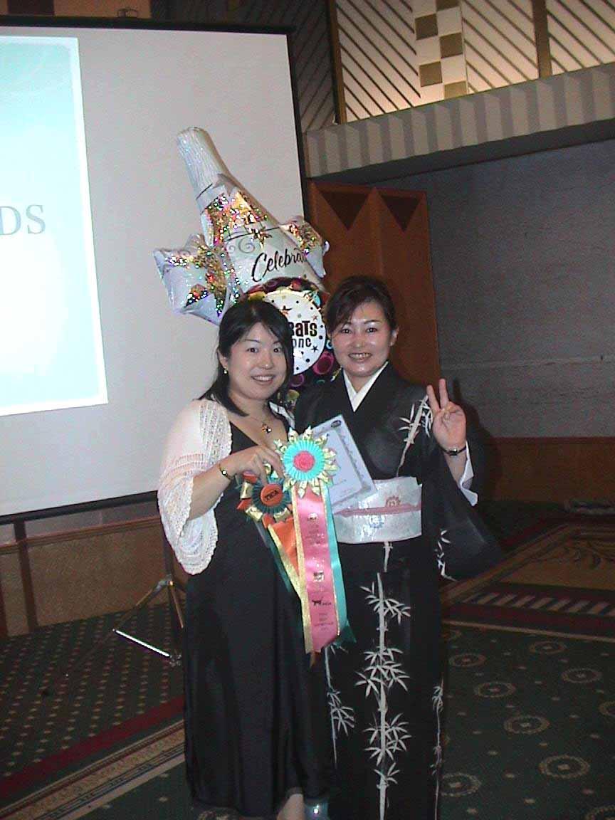 TICA REAGIONAL AWARD PARTY バル~ン_e0033609_2335994.jpg