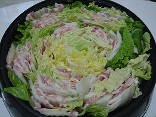 豚バラと白菜の重ね鍋 _c0025217_1424643.jpg