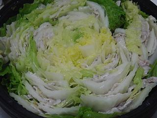 豚バラと白菜の重ね鍋 _c0025217_1425766.jpg